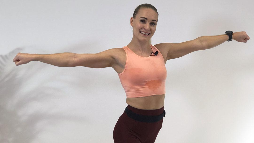 Dance Cardio Workout / Tren hjemme / Hjemmetrening / LaMove