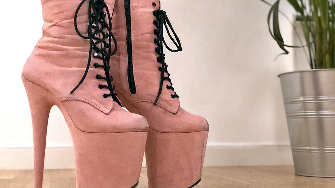 Floor work and heels teknikk / Pole Dance / Hjemmetrening / LaMove